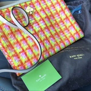 Brand new Kate spade summer colorful bag
